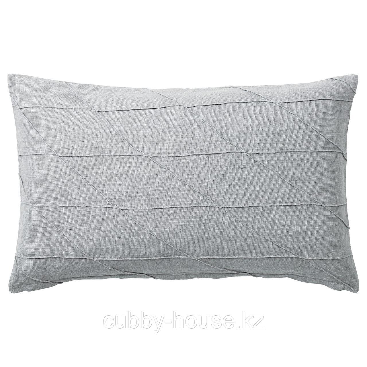 ХАРЁРТ Подушка, серый, 40x65 см