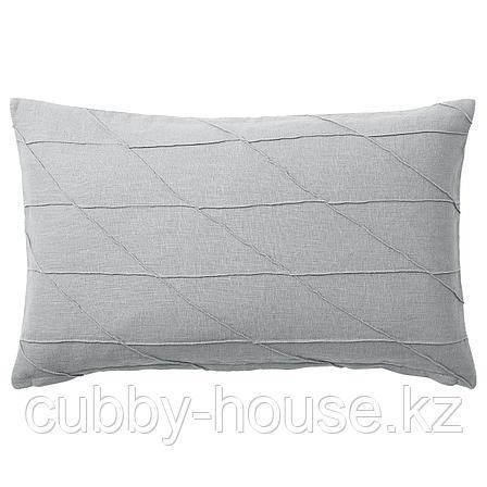 ХАРЁРТ Подушка, серый, 40x65 см, фото 2