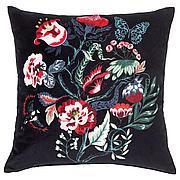 САРАЛЕНА Подушка, черный, разноцветный, 50x50 см