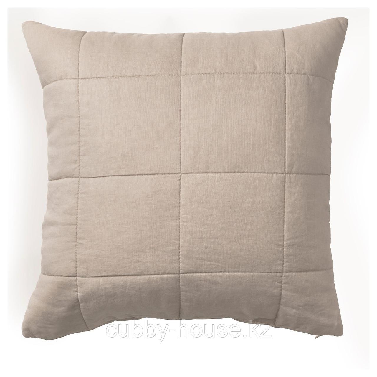 ГУЛЬВЕД Чехол на подушку, неокрашенный, 65x65 см