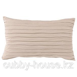 ВЕКЕТОГ Чехол на подушку, бежевый, 40x65 см, фото 2