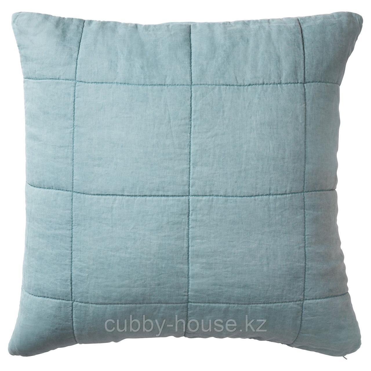 ГУЛЬВЕД Чехол на подушку, зеленый, 65x65 см