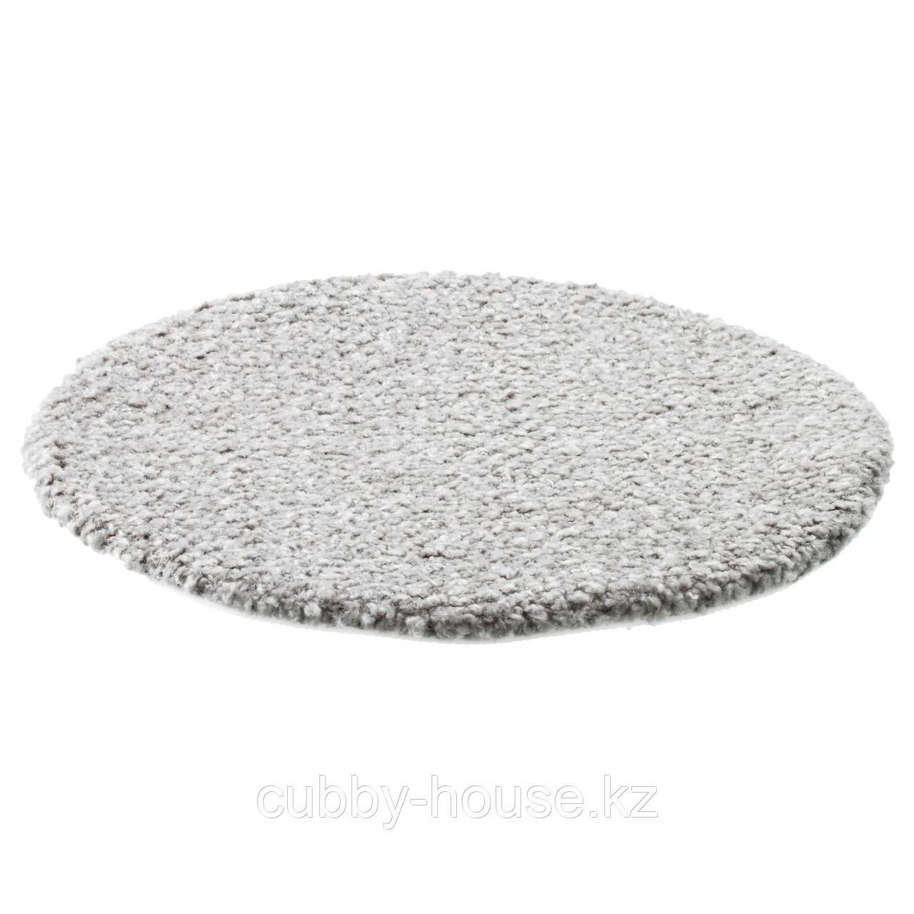 БЕРТИЛЬ Подушка на стул, серый, 33 см - фото 1