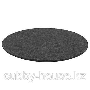 ОДДБЬЁРГ Подушка на стул, серый, 35 см, фото 2