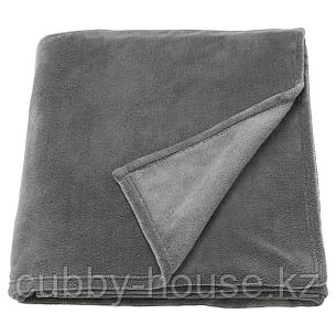 ТРАТТВИВА Покрывало, серый, 230x250 см, фото 2