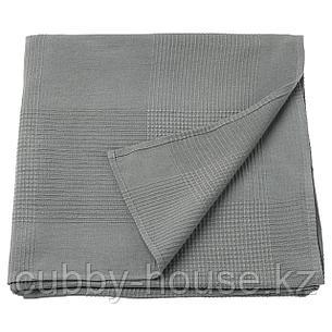 ИНДИРА Покрывало, серый, 230x250 см, фото 2