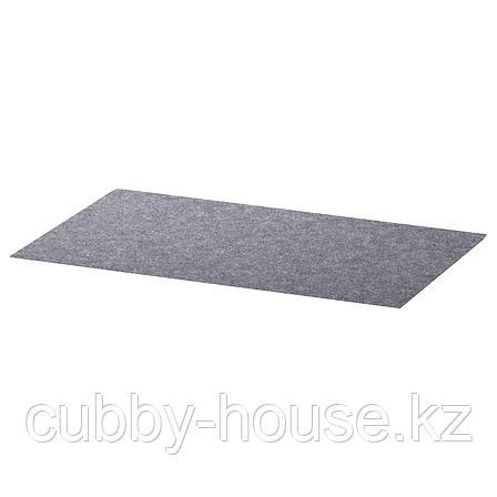 БЕСТО Коврик в ящик, серый, 32x51 см, фото 2