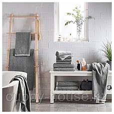 ВИКФЬЕРД Банное полотенце, серый, 70x140 см, фото 2