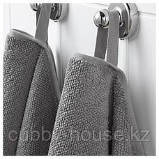 ВИКФЬЕРД Банное полотенце, серый, 70x140 см, фото 3