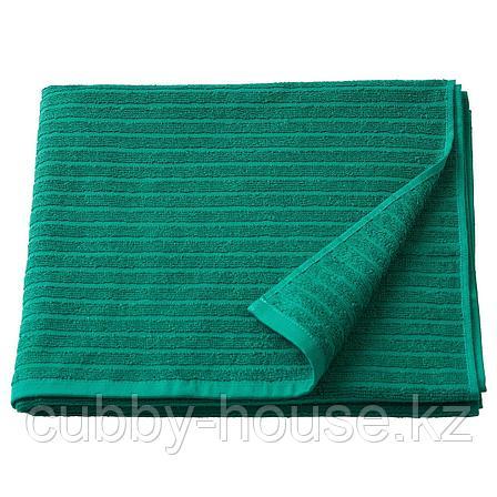 ВОГШЁН Банное полотенце, темно-зеленый, 70x140 см, фото 2