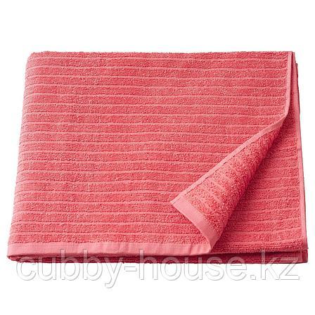 ВОГШЁН Банное полотенце, светло-красный, 70x140 см, фото 2