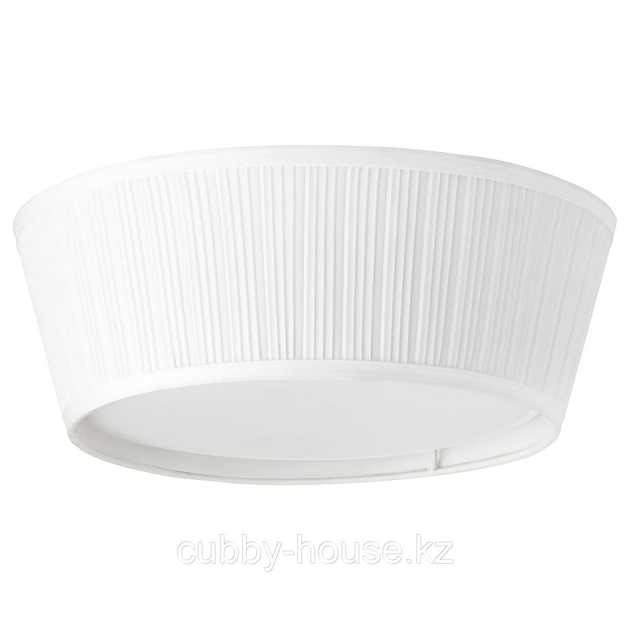ОРСТИД Потолочный светильник, белый, 46 см