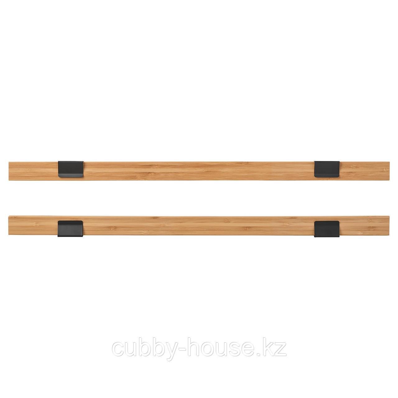 ВИСБЭКК Держатель для постера, бамбук, 61 см