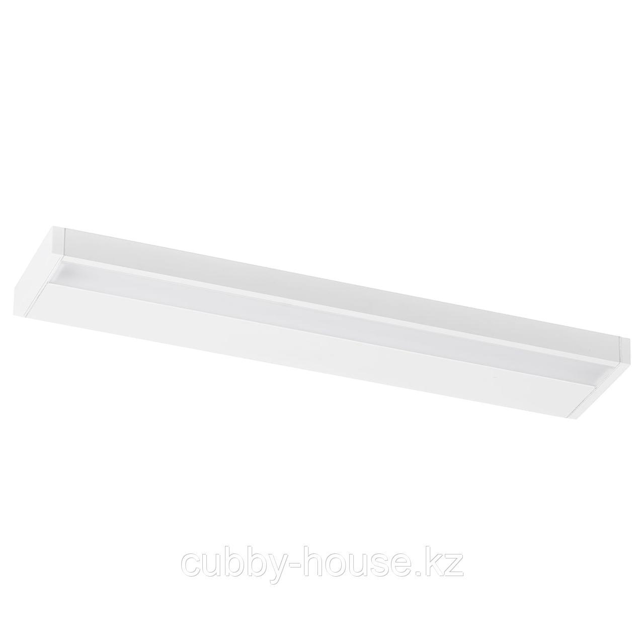 ГОДМОРГОН Светодиодная подсветка шкафа/стены, белый, 60 см