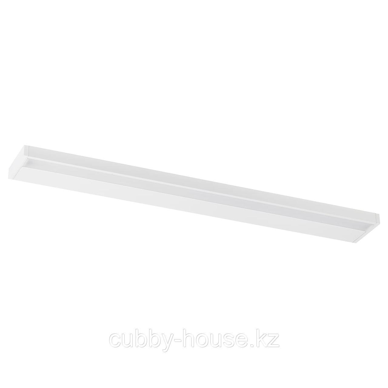 ГОДМОРГОН Светодиодная подсветка шкафа/стены, белый, 100 см