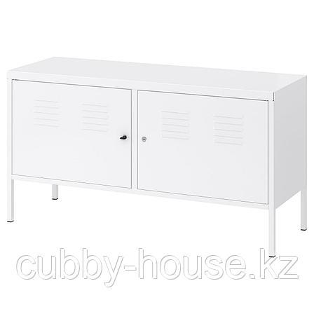 ИКЕА ПС Шкаф, белый, 119x63 см, фото 2