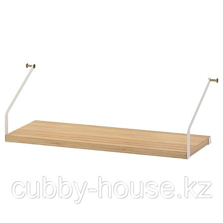 СВАЛЬНЭС Полка, бамбук, 61x25 см, фото 2