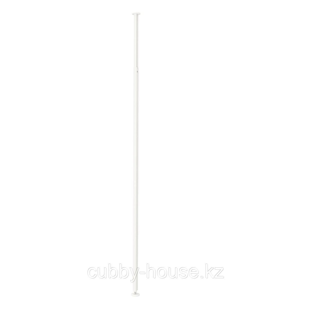 ЭЛВАРЛИ Стойка, белый, 222-350 см