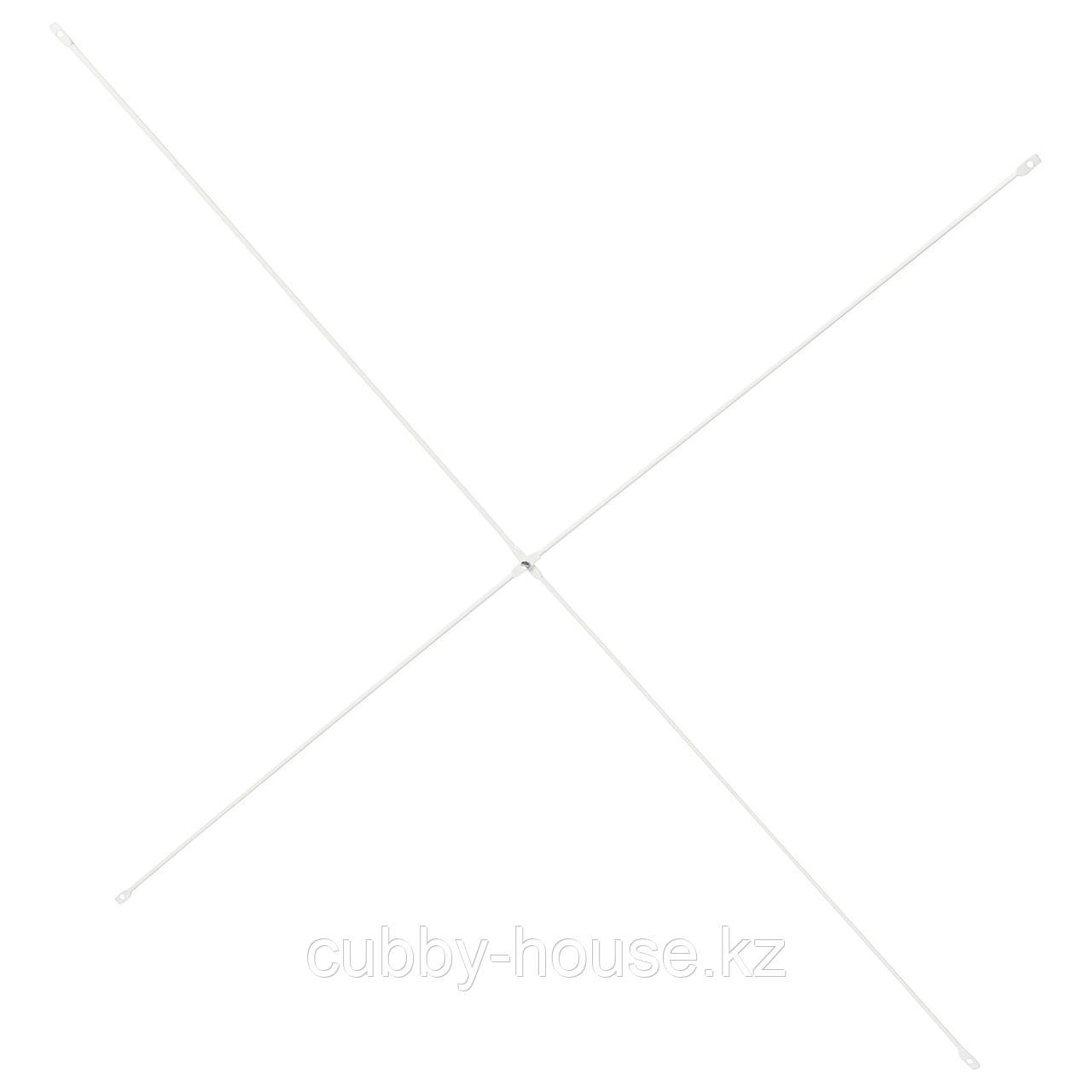 ЭЛВАРЛИ Крестовина, белый, 80 см
