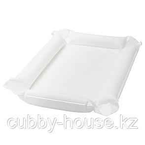 СКЁТСАМ Пеленальная подстилка, белый, 53x80x2 см, фото 2