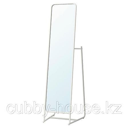КНАППЕР Зеркало напольное, белый, 48x160 см, фото 2