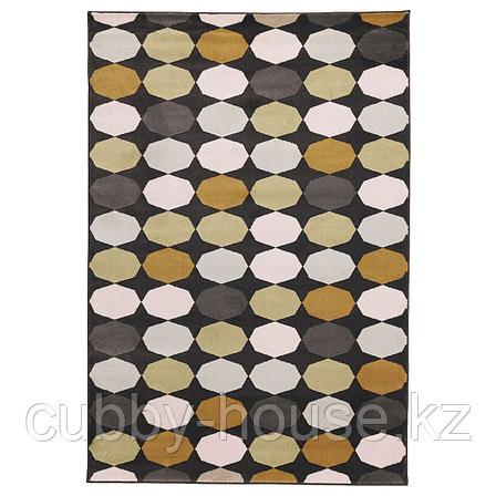 ТОРРИЛД Ковер, короткий ворс, разноцветный, 133x195 см, фото 2