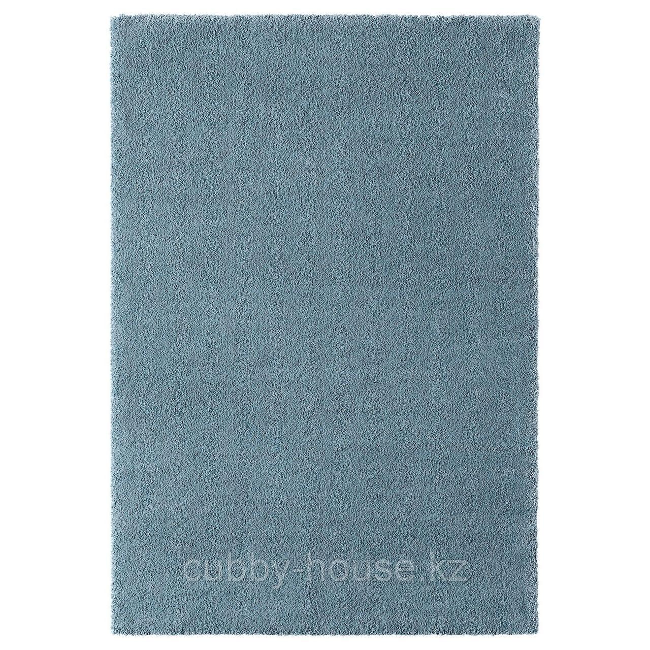 СТОЭНСЕ Ковер, короткий ворс, классический синий, 133x195 см
