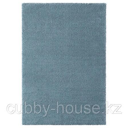 СТОЭНСЕ Ковер, короткий ворс, классический синий, 133x195 см, фото 2
