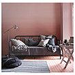 ФИРЕСДАЛЬ Кушетка с 2 матрасами, черный, Хусвика жесткий, 80x200 см, фото 3