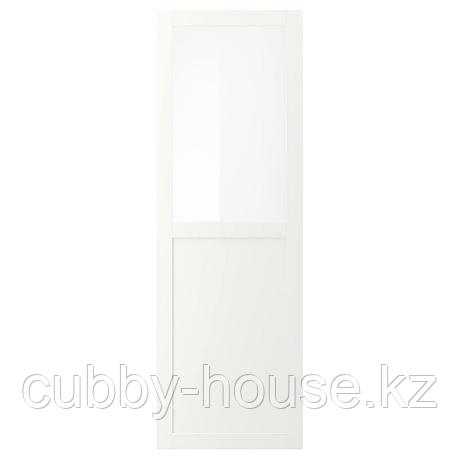 ВЭРД Панельн/стеклян дверца, белый, 60x180 см, фото 2