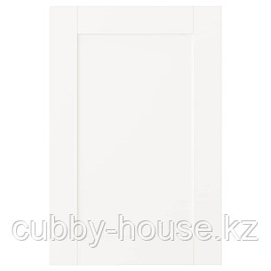 САННИДАЛЬ Дверь, белый, 40x60 см, фото 2