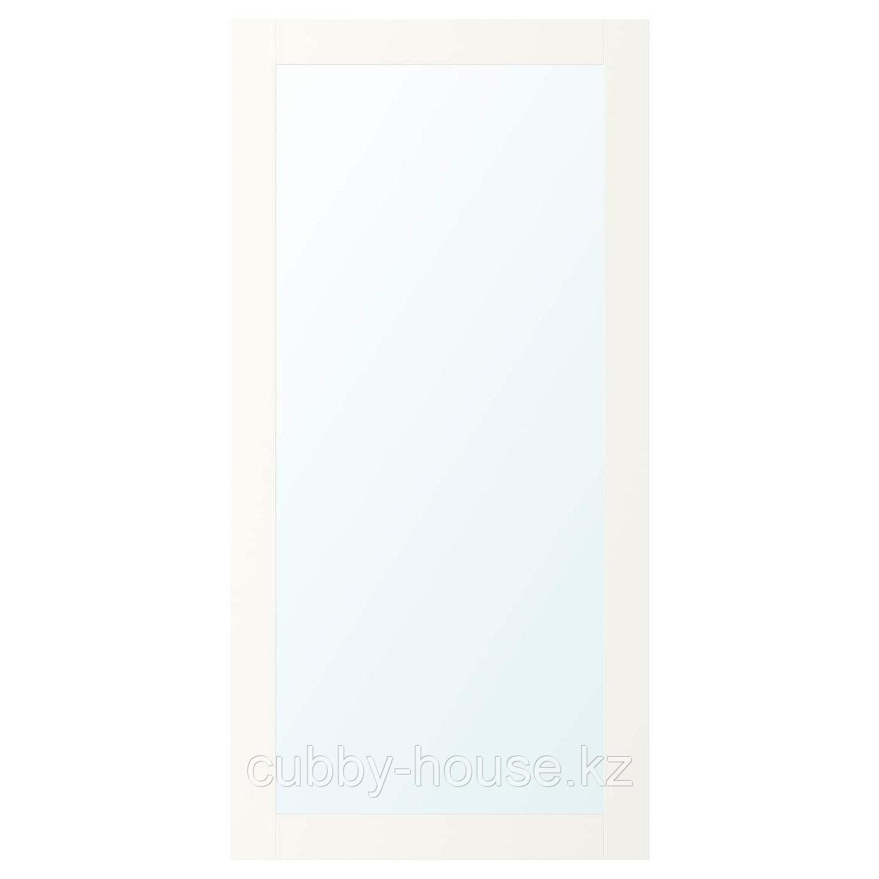 РИДАБУ Дверца с петлями, белый, 60x120 см