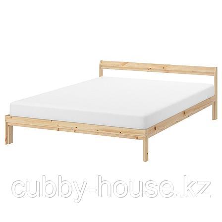 НЕЙДЕН Каркас кровати, сосна, 140x200 см, фото 2