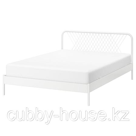 НЕСТТУН Каркас кровати, белый, 140x200 см, фото 2