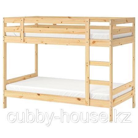 МИДАЛ Каркас 2-ярусной кровати, сосна, 90x200 см, фото 2