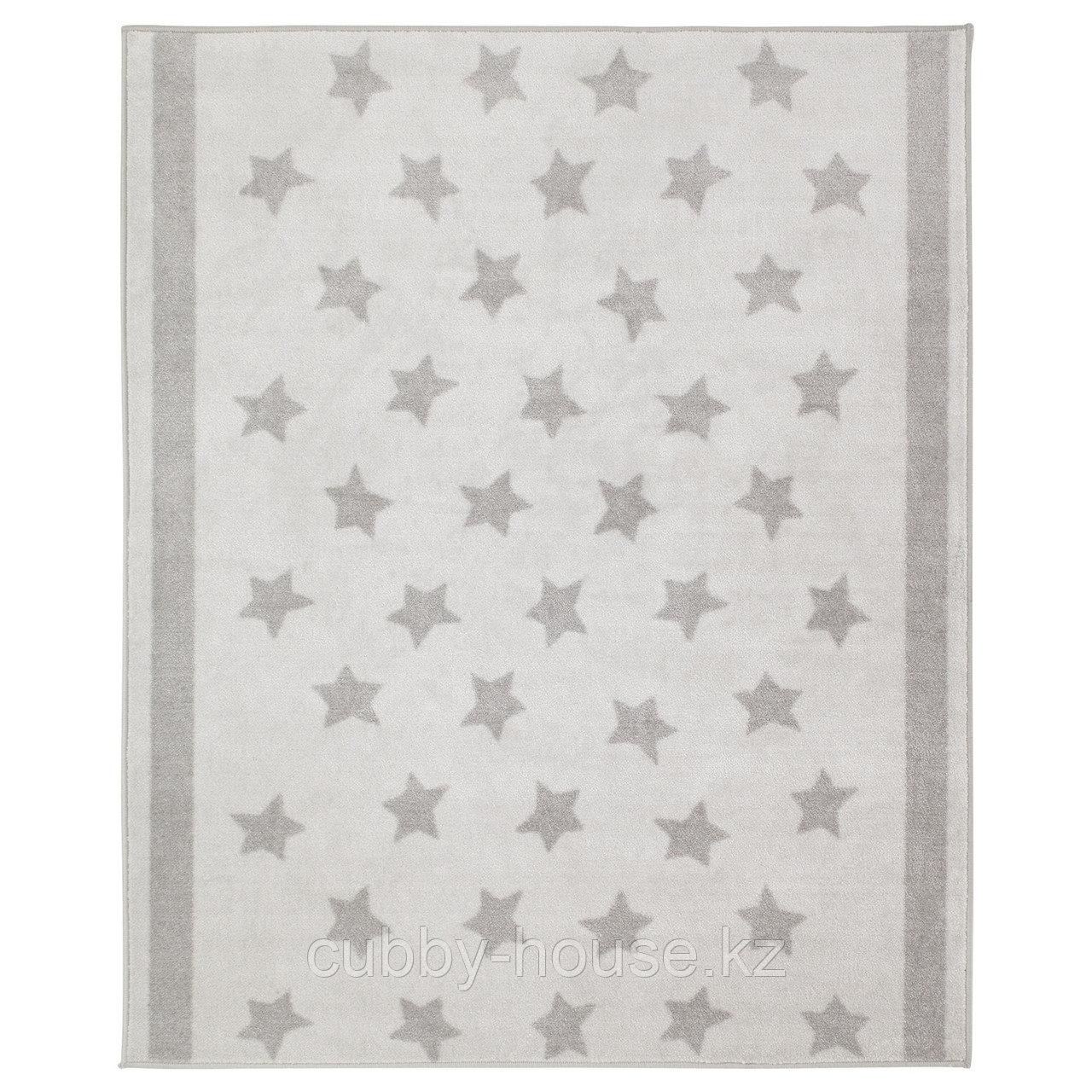 ХИММЕЛЬСК Ковер, серый, 133x160 см