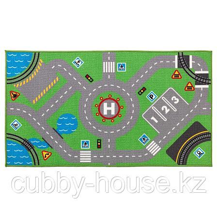 СТОРАБУ Ковер, зеленый, 75x133 см, фото 2
