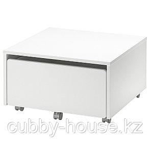 СЛЭКТ Ящик д/хранения на колесиках, 62x62x35 см, фото 2