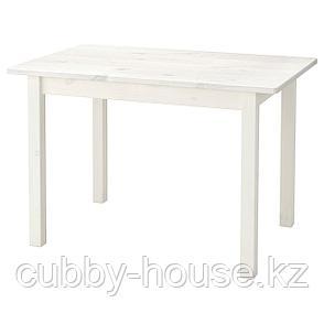 СУНДВИК Стол детский, белый, 76x50 см, фото 2