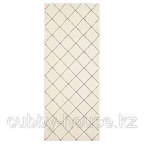 АРНАГЕР Ковер, белый, бежевый, 80x150 см, фото 2
