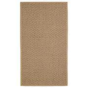 ХЕЛЛЕСТЕД Ковер безворсовый, неокрашенный, коричневый, 80x150 см