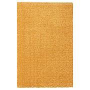 ЛАНГСТЕД Ковер, короткий ворс, желтый, 60x90 см