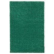 ЛАНГСТЕД Ковер, короткий ворс, зеленый, 60x90 см