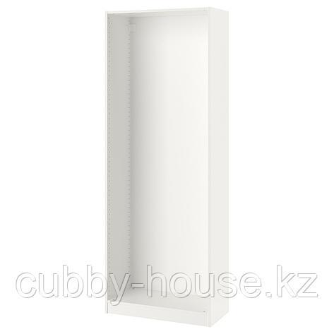 ПАКС Каркас гардероба, белый, 75x35x201 см, фото 2