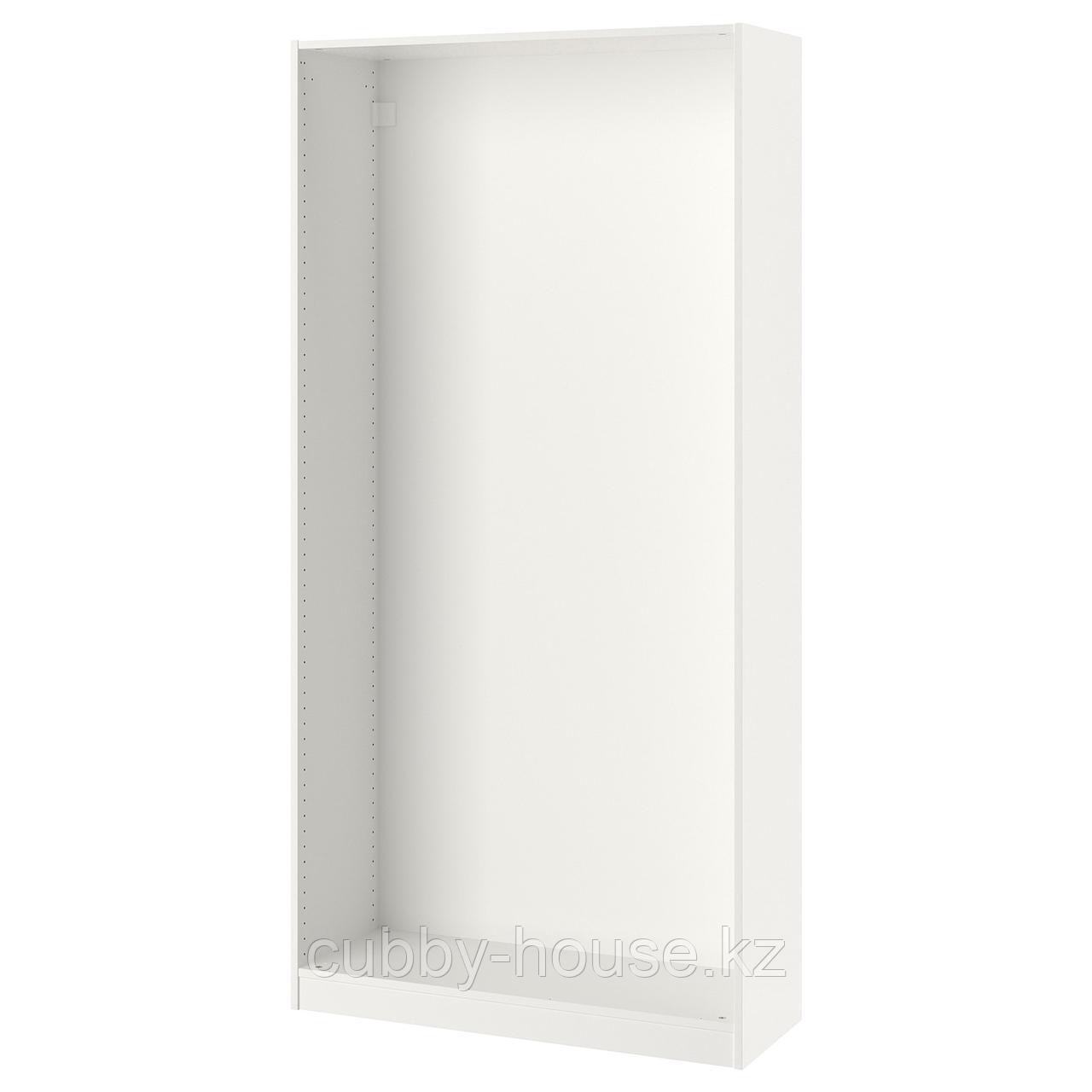 ПАКС Каркас гардероба, белый, 100x35x201 см