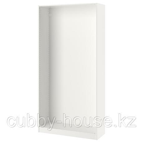 ПАКС Каркас гардероба, белый, 100x35x201 см, фото 2