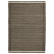 ХОЭТ Ковер безворсовый, коричневый ручная работа коричневый, 170x240 см