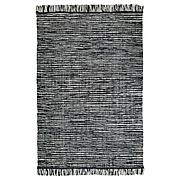 КОПЕНГАГЕН Ковер безворсовый, ручная работа темно-серый, 170x240 см