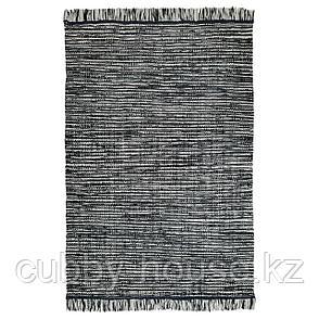 КОПЕНГАГЕН Ковер безворсовый, ручная работа темно-серый, 170x240 см, фото 2