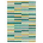 КРЁНГЕ Ковер, короткий ворс, ручная работа, разноцветный, 170x240 см